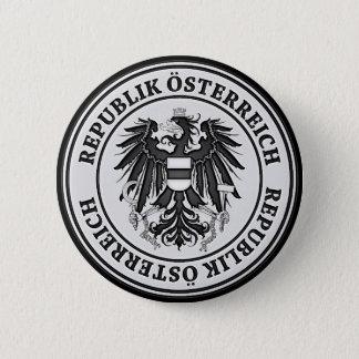 Rundes Emblem Österreichs Runder Button 5,1 Cm