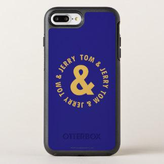 Rundes Logo 4 Toms und Jerry OtterBox Symmetry iPhone 8 Plus/7 Plus Hülle