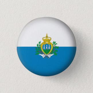 Rundes San Marino Runder Button 2,5 Cm