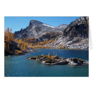 Rune See, die Verzauberungen, Kaskaden, Washington Karte