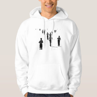 Running soldiers hoodie