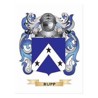 Rupp Wappen (Familienwappen) Postkarte