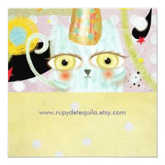 Rupydetequila niedliche Spaß-Einladung 2013 Quadratische 13,3 Cm Einladungskarte