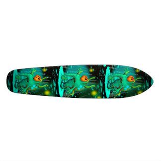 "RUSS ALIEN-CARTOON Skateboard 7 1/8"" Individuelle Skateboarddecks"