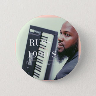Russ Keyboarder Runder Button 5,1 Cm