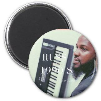 Russ Keyboarder Runder Magnet 5,7 Cm