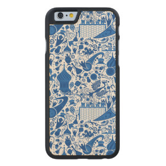 Russe Gzel Muster Carved® iPhone 6 Hülle Ahorn