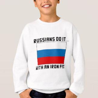 Russen tun es… Mit einer eisernen Faust Sweatshirt
