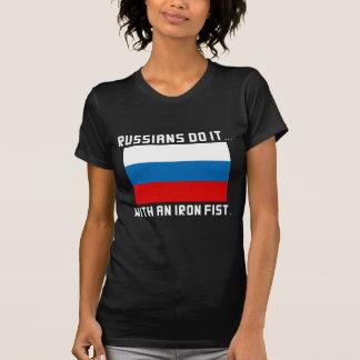 Russen tun es… Mit einer eisernen Faust T-Shirt