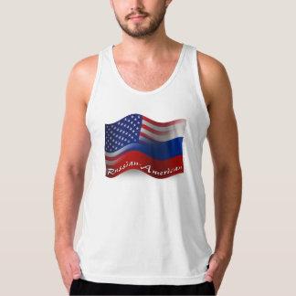 Russisch-Amerikanische wellenartig bewegende Tank Top