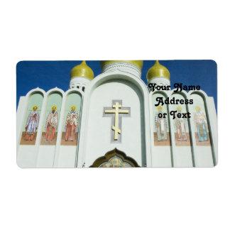 Russisch-Orthodoxe Kirche Versand Aufkleber