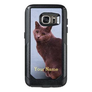 Russische blaue Katze OtterBox Samsung Galaxy S7 Hülle