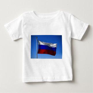 Russische Flagge Baby T-shirt