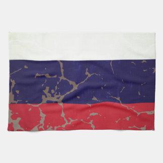 Russische Flagge Handtuch