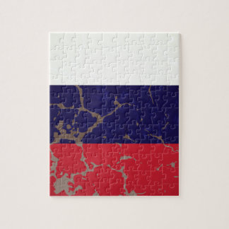 Russische Flagge Puzzle