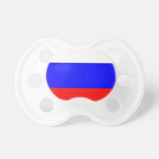 Russische Flagge Schnuller