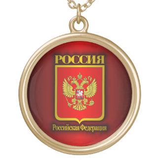 Russische Föderation COA Halskette Mit Rundem Anhänger