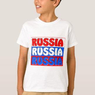 Russische Föderation FLAGGE T-Shirt