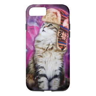 russische Katze im Raum iPhone 8/7 Hülle