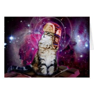 russische Katze im Raum Karte