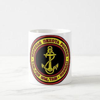 Russische Marinesoldaten Kaffeetasse