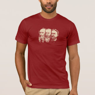 Russische Troika: Tolstoy, Dostoevsky, Tschechow T-Shirt