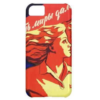 Russische Vintage kommunistische Raum-Propaganda iPhone 5C Hülle