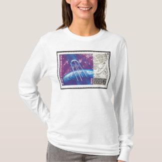Russische Weltraumforschung Sputnik 1 15 Jahre T-Shirt