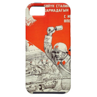 Russische WWII Propaganda iPhone 5 Etuis