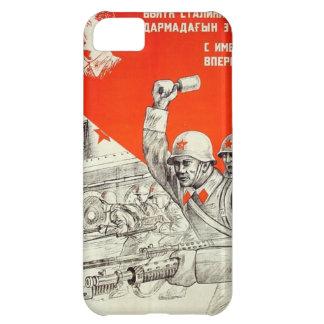 Russische WWII Propaganda iPhone 5C Hülle
