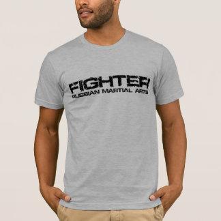 Russischer Kriegskunst-Kämpfer-T - Shirt