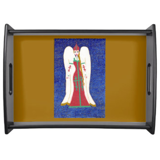 Russischer orthodoxer Engel Tablett