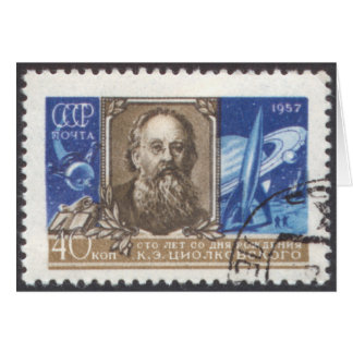 Russischer sowjetischer Wissenschaftler Konstantin Karte