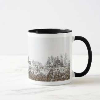 Russischer Winter Tasse