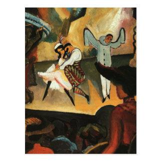 Russisches Ballett bis August Macke Postkarte