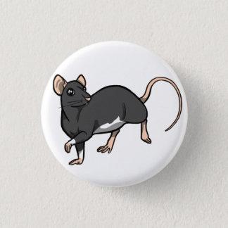 Russisches blaues Berkshire-Ratten-Abzeichen Runder Button 3,2 Cm