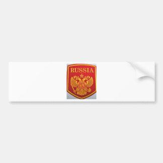 russisches Emblem George und Drache Autoaufkleber
