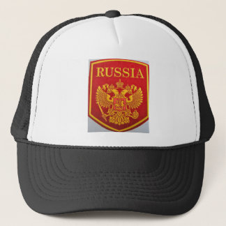 russisches Emblem George und Drache Truckerkappe