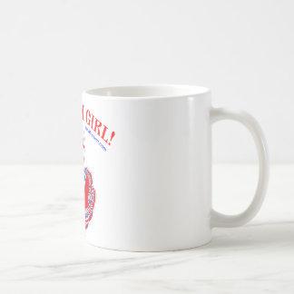 Russisches Mädchen! Kaffeetasse