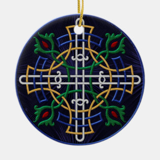 Russisches orthodoxes Symbol - personalisiert Rundes Keramik Ornament