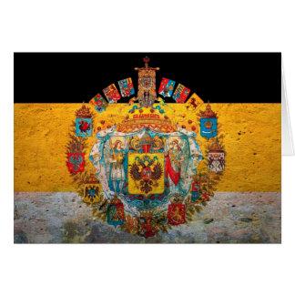 Russisches Reich-Flagge Karte