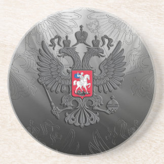 Russisches Symbolflaggengrau Untersetzer