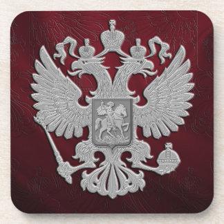Russisches Symbolflaggenrot Untersetzer