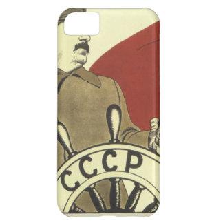 Russisches Vintages kommunistisches iPhone 5C Hülle