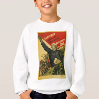 Russisches Vintages kommunistisches Sweatshirt