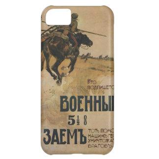Russisches Vintages Propaganda-Plakat iPhone 5C Hülle