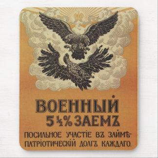 Russisches Vintages Propaganda-Plakat Mousepads
