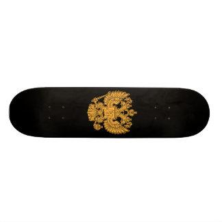 Russisches Wappen der Russischen Föderation 21,6 Cm Skateboard Deck