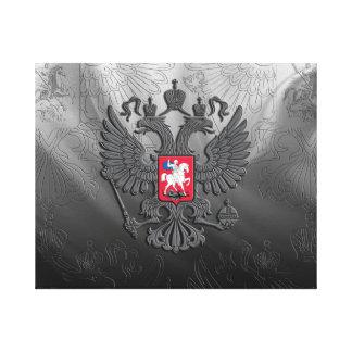 Russisches Wappen Leinwanddruck