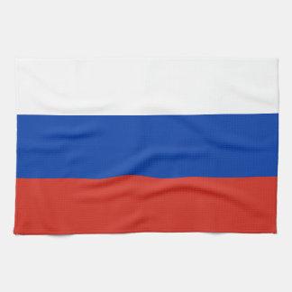 Russland-Flagge Handtuch